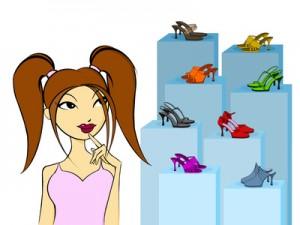 jeune femme 11 - souliers
